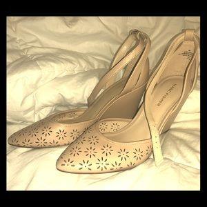 Marc Fischer wedge sandal heel